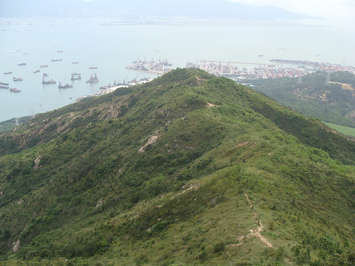 Hiking Trekking Hong Kong Adventurer, Castle Peak South Ridge 青山南脊